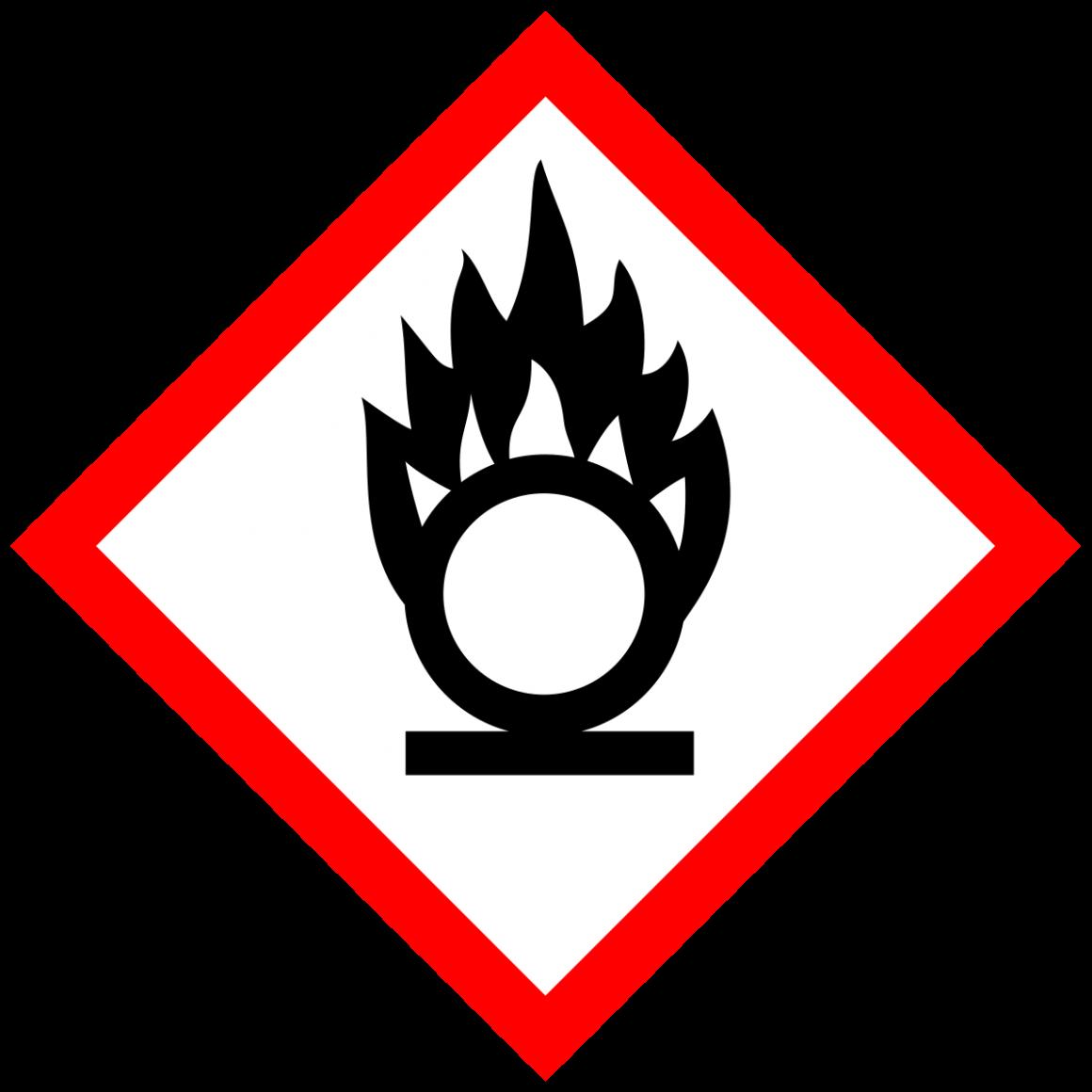 Gevarensymbool oxiderend
